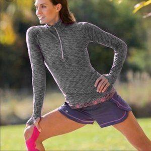Athleta Mendoza 1/2 Zip Pullover Top / Shirt